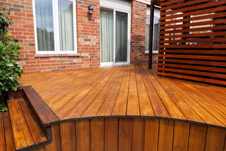 Deck Staining by Anthony Meggs Painting LLC
