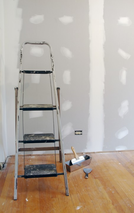 Drywall repair by Anthony Meggs Painting LLC.