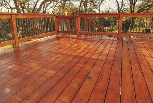 Anthony Meggs Painting LLC Deck Staining