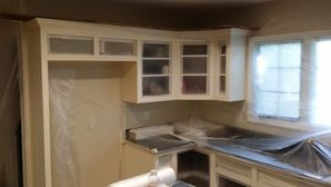Before & After Cabinet Painting in Charlotte, NC (1)