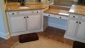 Before & After Vanity & Cabinet Painting in Charlotte, NC (2)