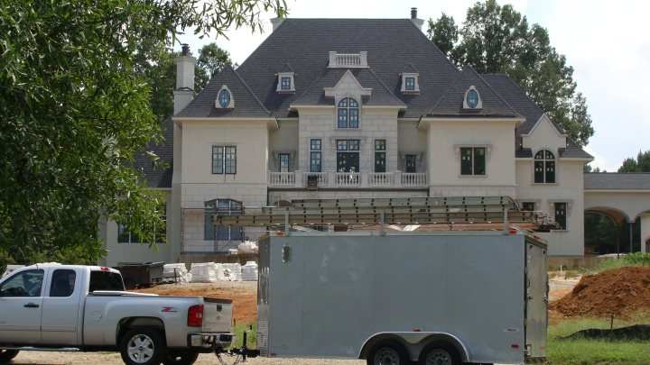 Exterior Painting of Long View Country Club in Waxhaw, NC